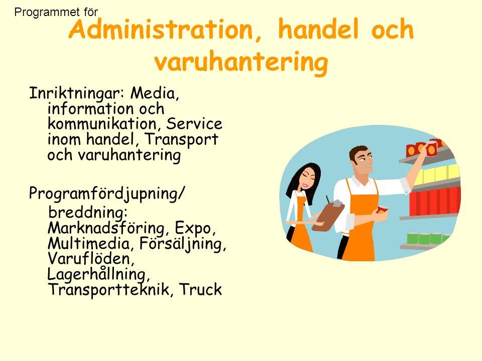 Mer info: www.utbildningsinfo.se www.skolverket.se www.syvi.se Lycka till med ditt framtidsbygge!