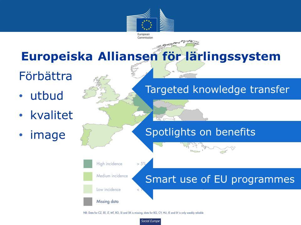Social Europe Kvalitetskriterier för praktik Praktik, om den är av god kvalitet, kan öka unga människorts anställbarhet.