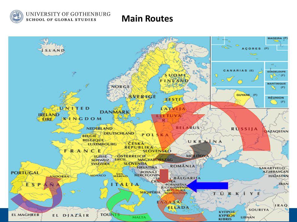 Main Routes