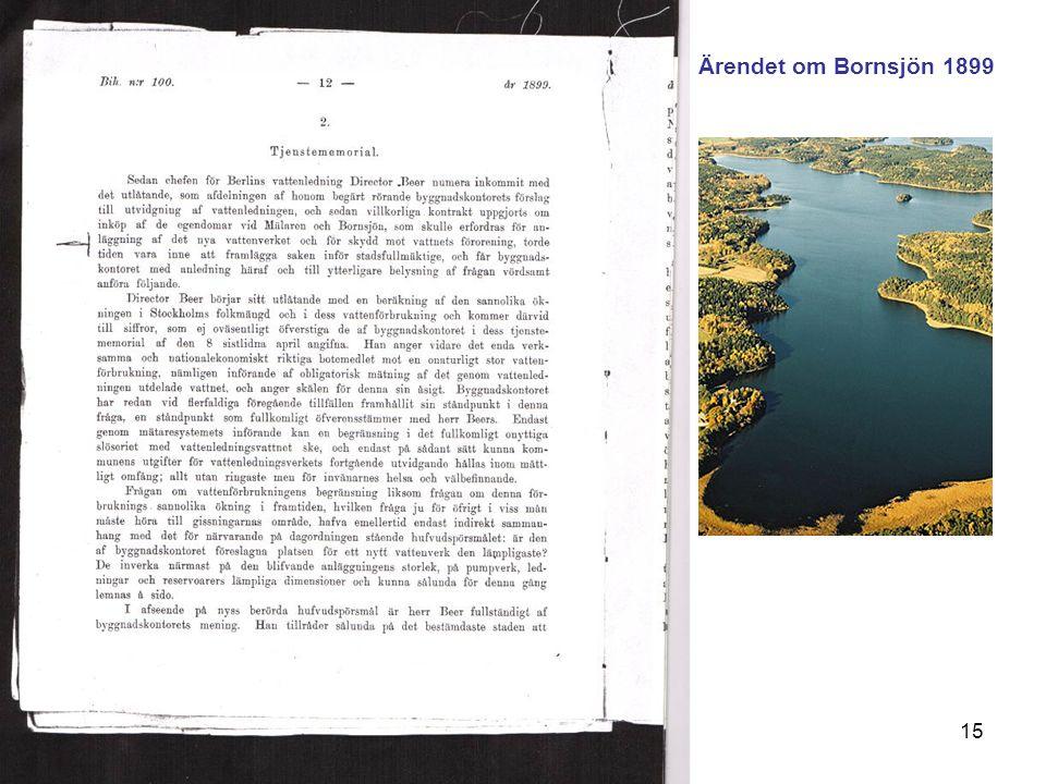 VAS-Rådet 8 februari15 Ärendet om Bornsjön 1899