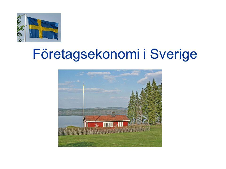 Företagsekonomi i Sverige