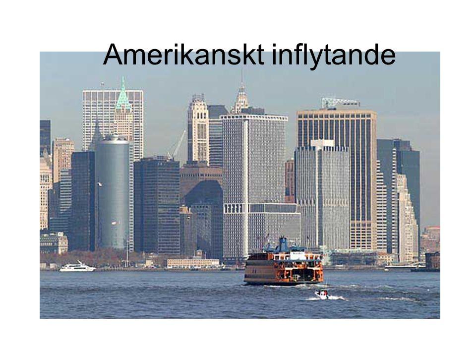 Amerikanskt inflytande