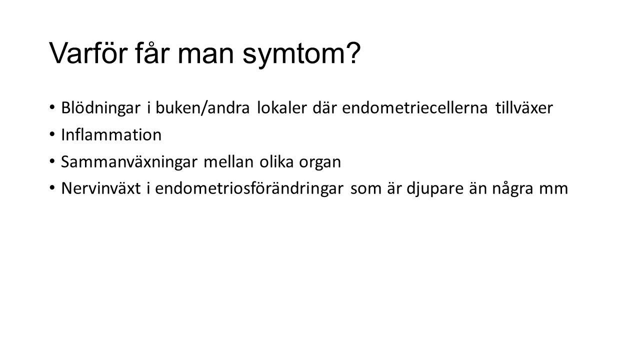 Varför får man symtom.