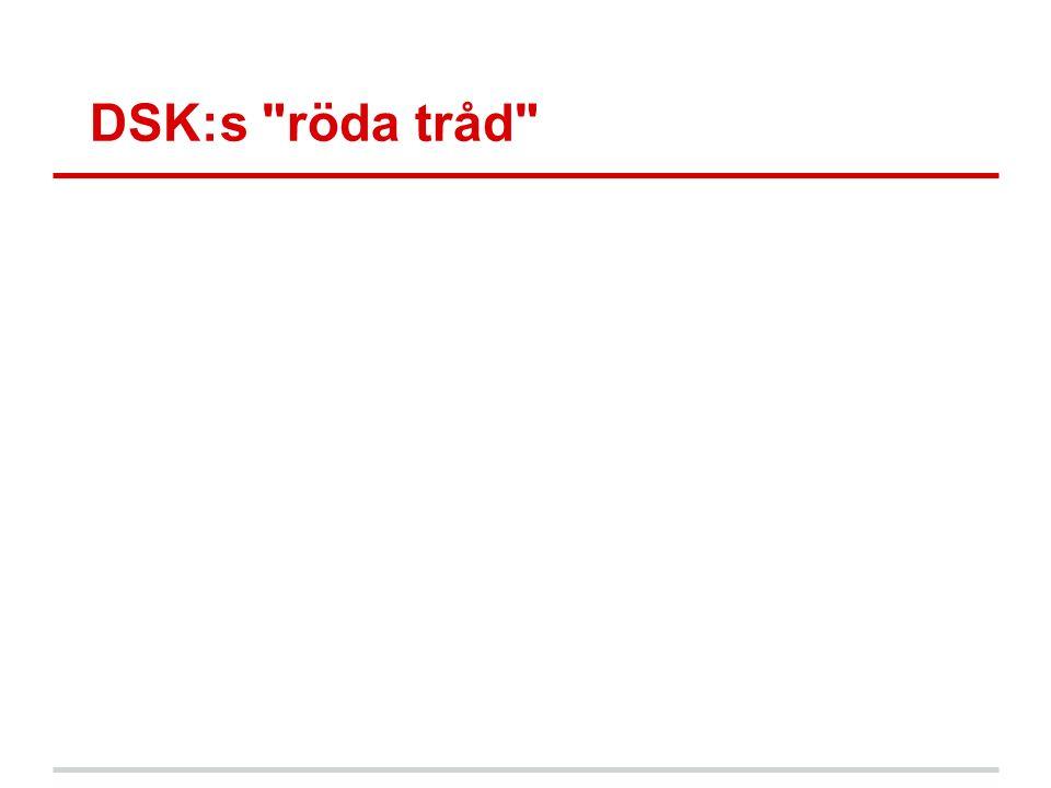 DSK:s röda tråd