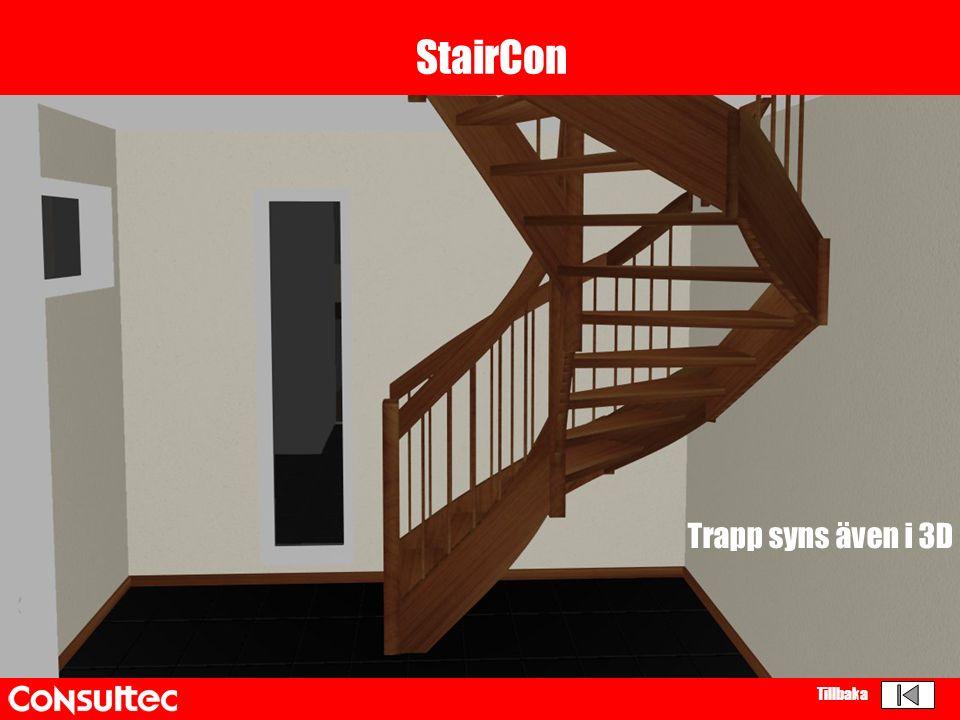 StairCon Trapp syns även i 3D Tillbaka