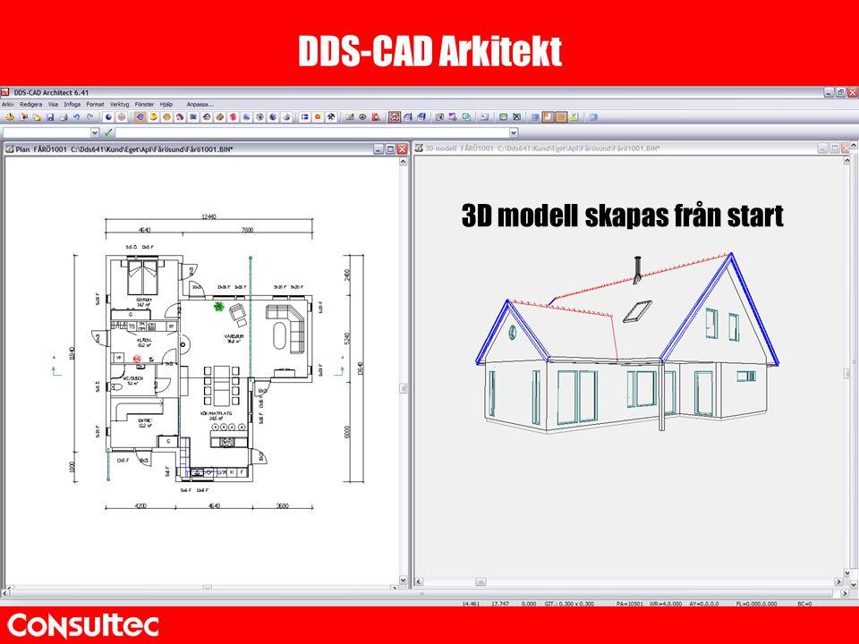3D modell skapas från start