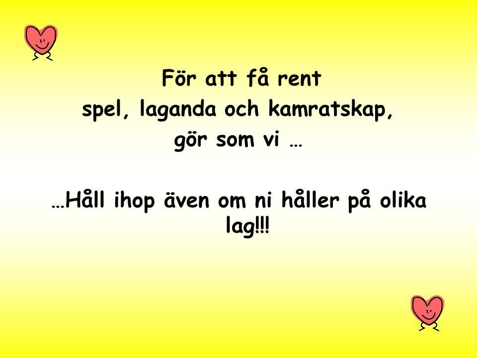 IFK ! TFK! SIF! HIS!