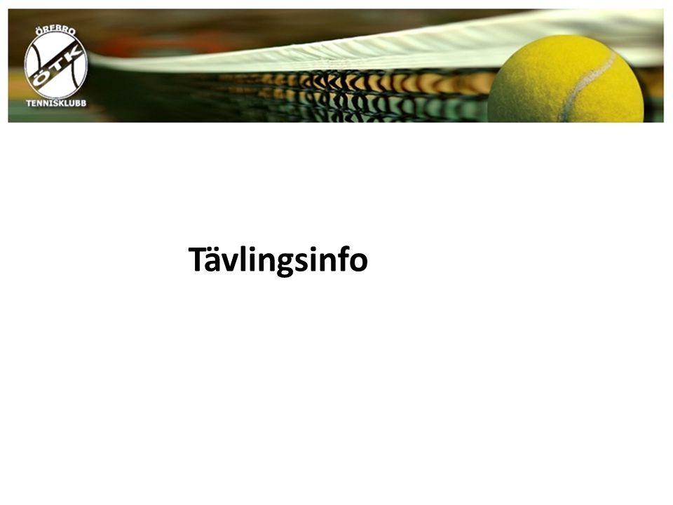 Tävlingsinfo