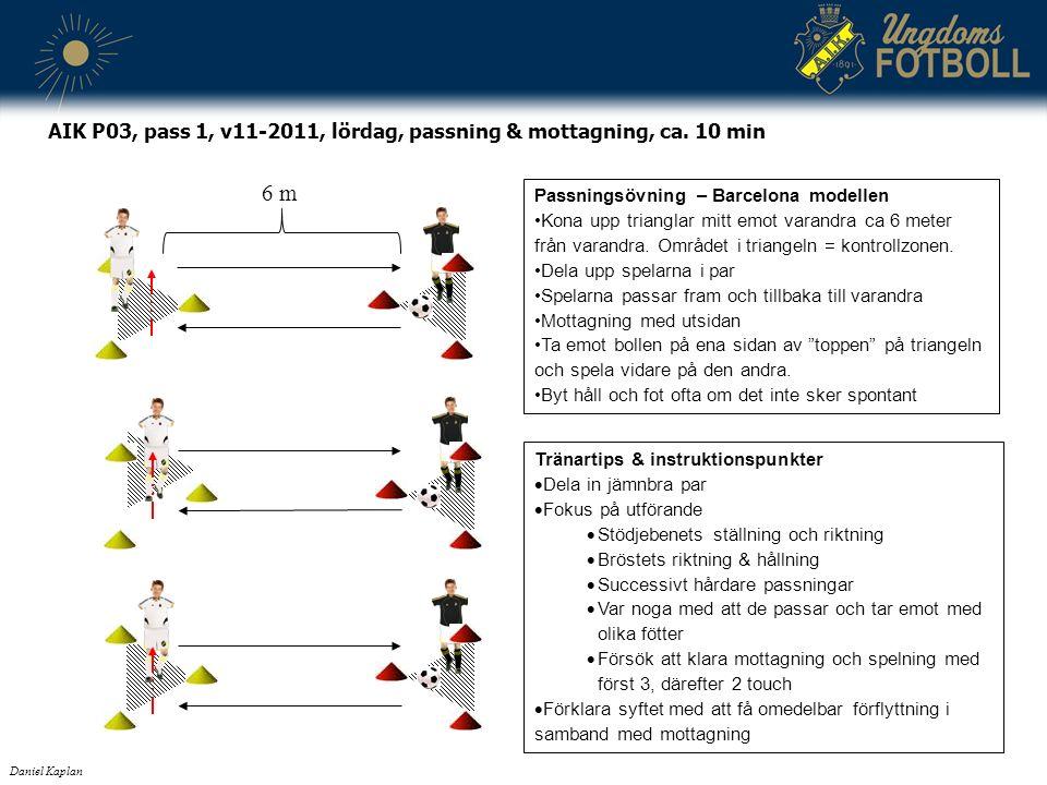 Tränartips & instruktionspunkter  Dela in jämnbra par  Fokus på utförande  Stödjebenets ställning och riktning  Bröstets riktning & hållning  Suc
