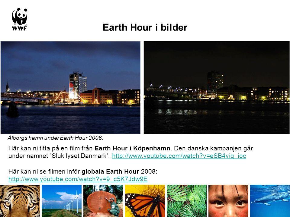 Earth Hour i bilder Här kan ni titta på en film från Earth Hour i Köpenhamn.