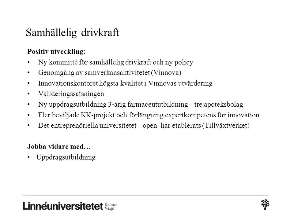 Uppdragsutbildningen Tabell 33.
