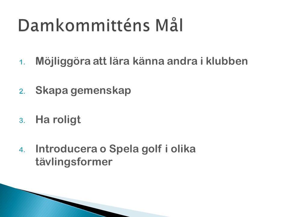 Anmälan via golf.se eller på receptionen Avslutning 2 fr Hemlig Resa 6