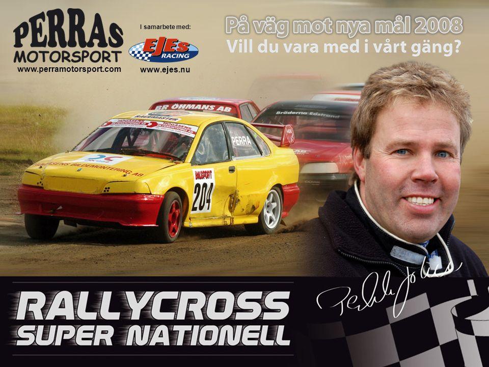 RALLYCROSS Rallycross är en hastighetstävling på sluten arena med grus- och asfalts- underlag.