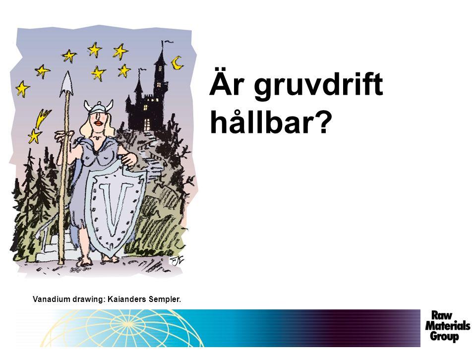 Vanadium drawing: Kaianders Sempler. Är gruvdrift hållbar?