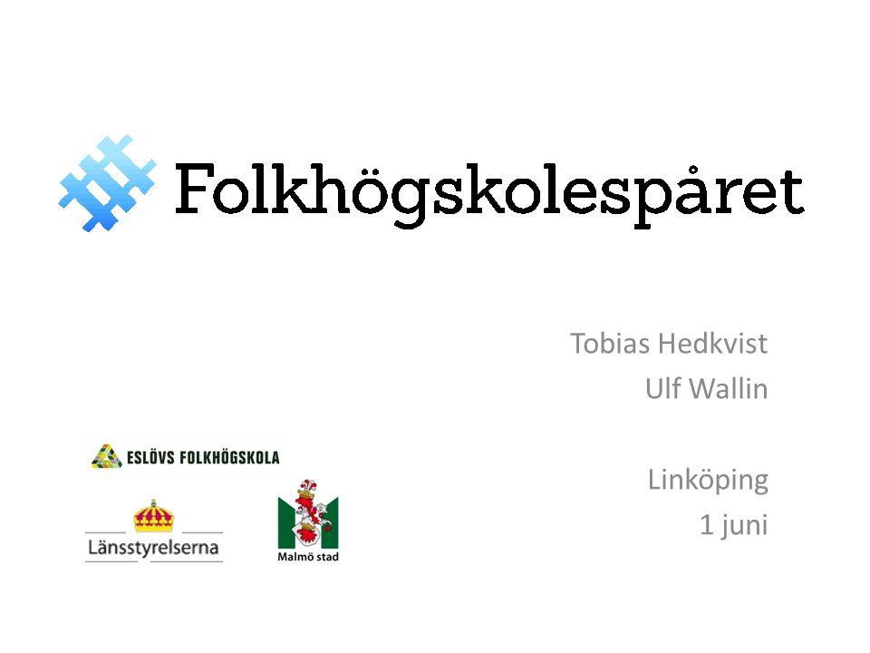 Tobias Hedkvist Ulf Wallin Linköping 1 juni
