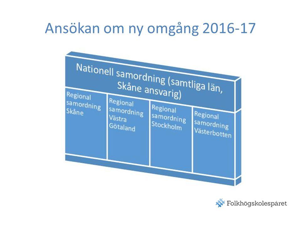 Ansökan om ny omgång 2016-17