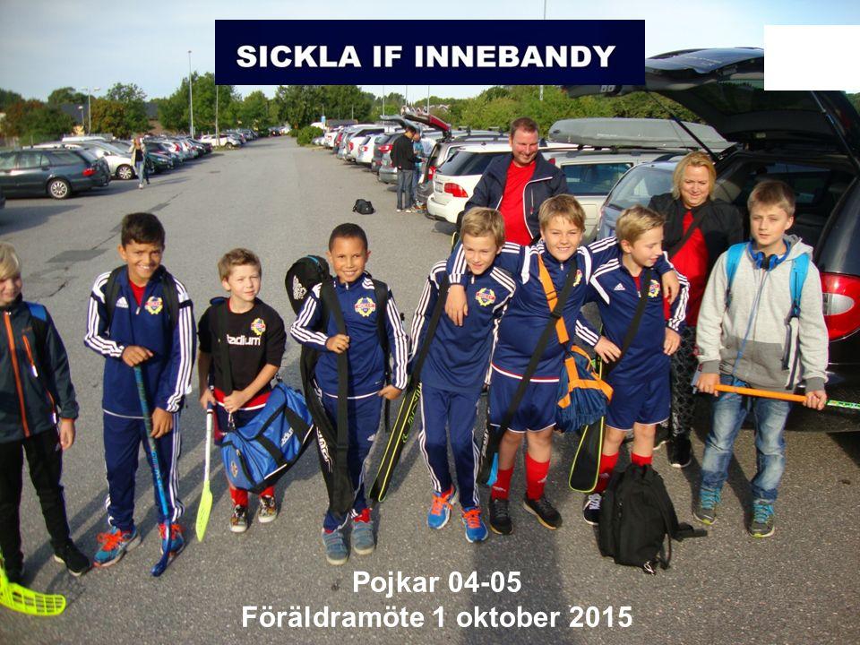 Ericsson Internal | 2014-12-19 | Page 1 Pojkar 04-05 Föräldramöte 1 oktober 2015