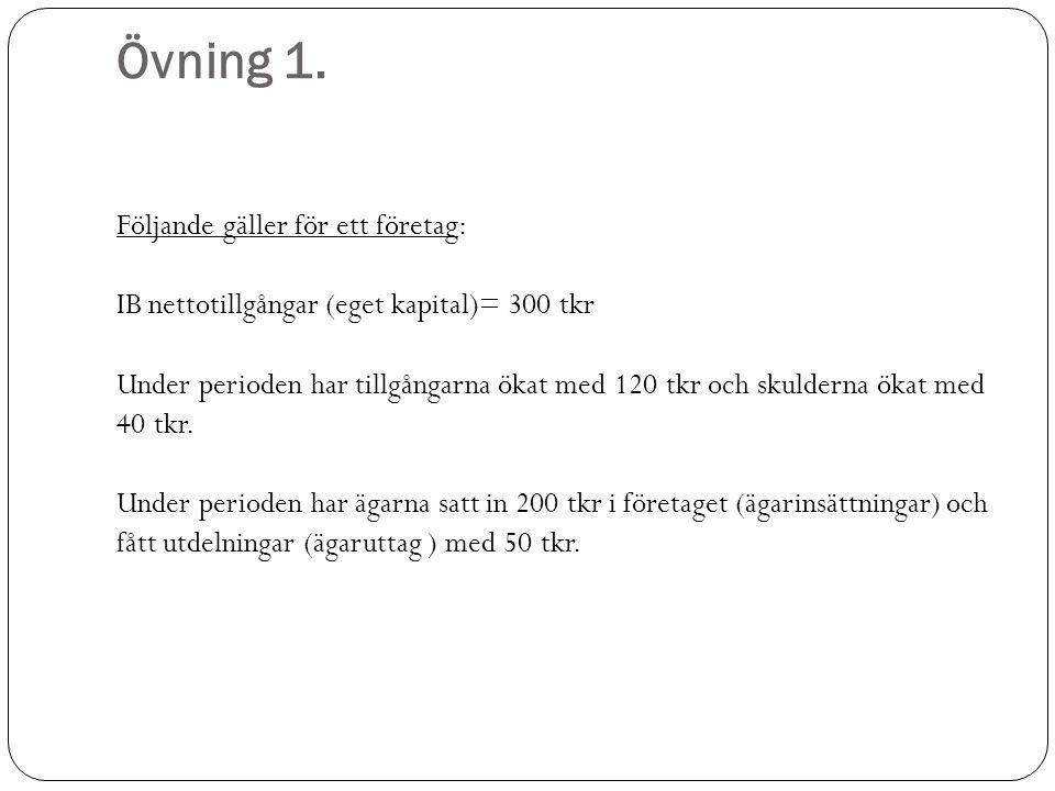Övning 1.