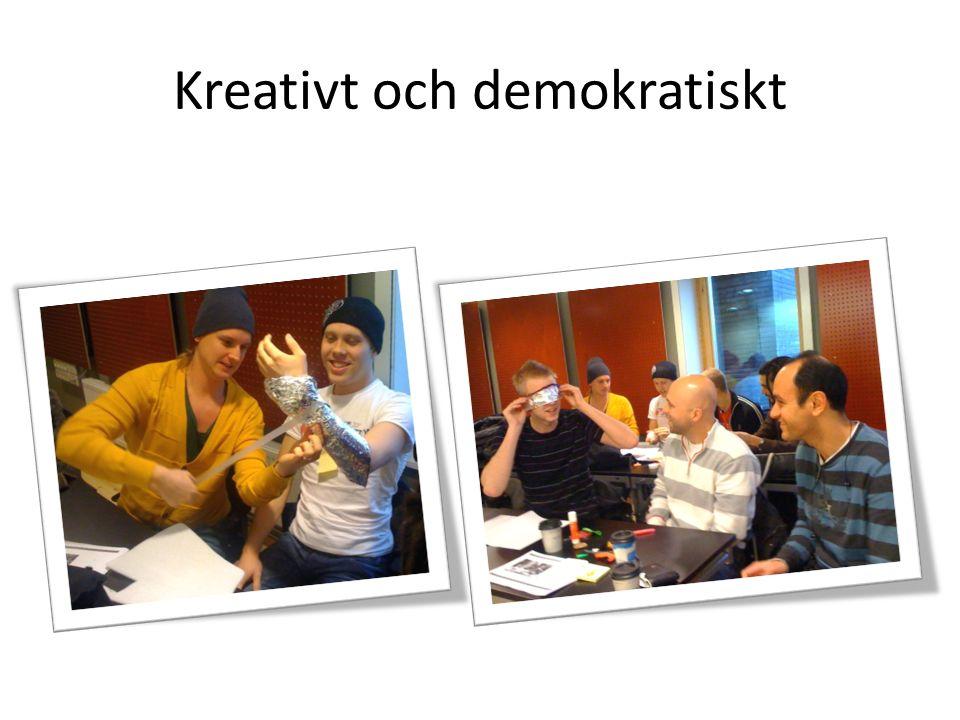 Kreativt och demokratiskt