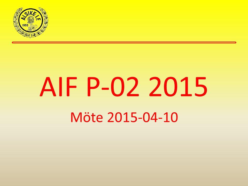 AIF P-02 2015 Möte 2015-04-10