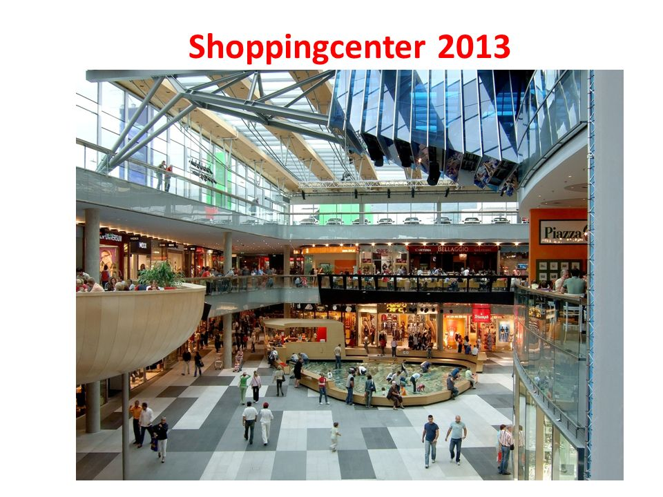 Shoppingcenter 2013