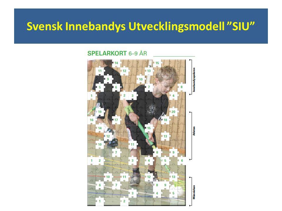 """Svensk Innebandys Utvecklingsmodell """"SIU"""""""