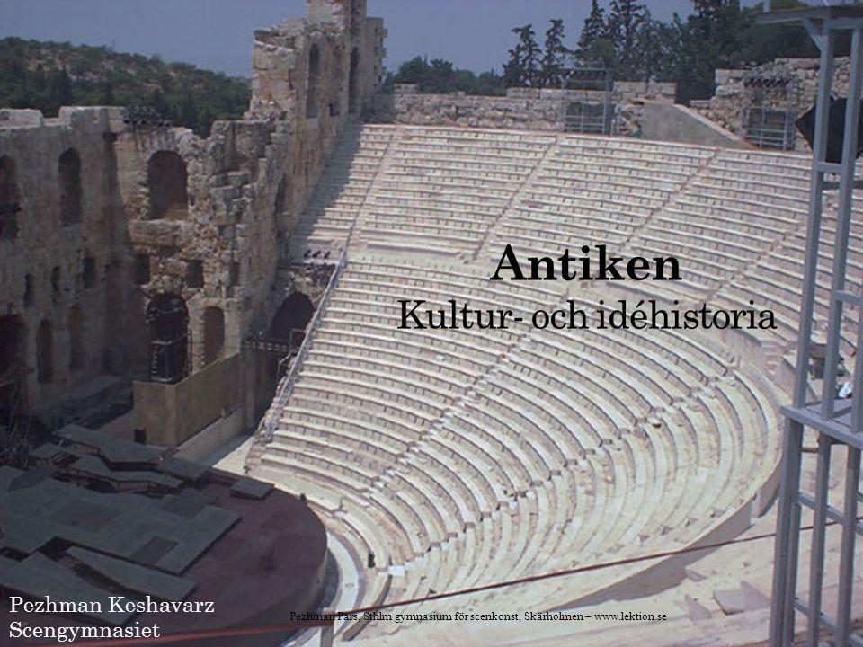 Den klassiska antika litteraturen, och därmed den västerländska, inleds med de båda verk som sedan antiken förknippas med Homeros namn: Iliaden och Odyssén, två epos, dvs berättande diktverk.