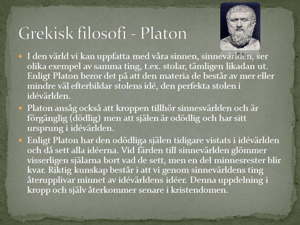 Aristoteles var elev till Platon och blev själv lärare till Alexander den store.