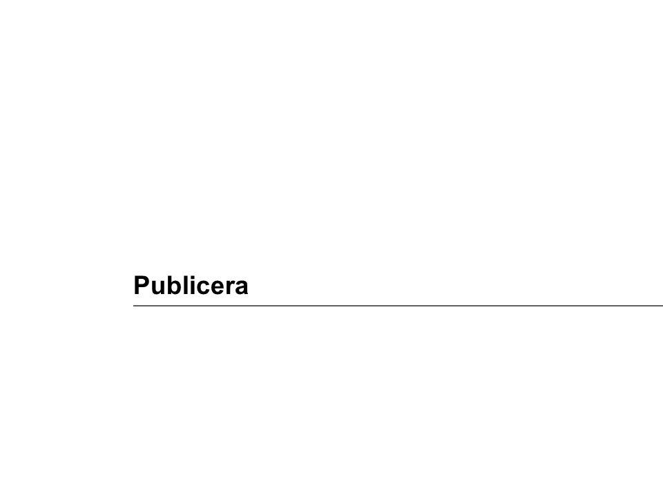 Publicera