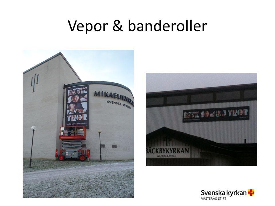 Vepor & banderoller