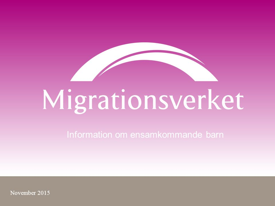 Migrationsverket anvisar kommun Asyl Anvisnings- kommun PUT Asyl Ankomst- kommun