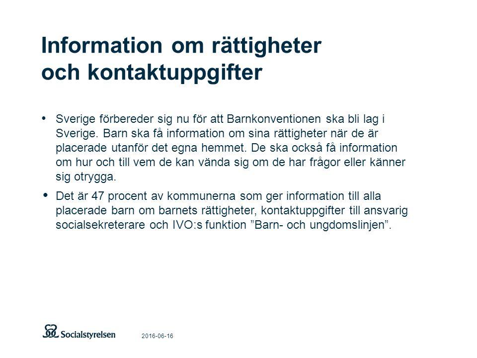 2016-06-16 Sverige förbereder sig nu för att Barnkonventionen ska bli lag i Sverige.