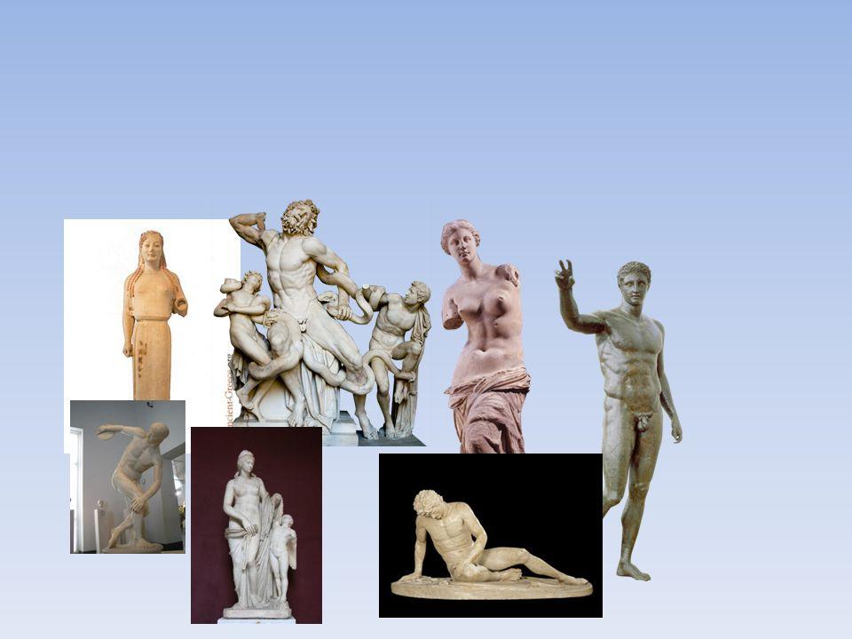 Bildkonst Anonyma hantverkare.Endast skulpturer och tempel bevarade.