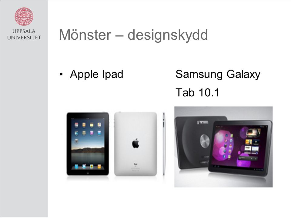 Mönster – designskydd Apple Ipad Samsung Galaxy Tab 10.1