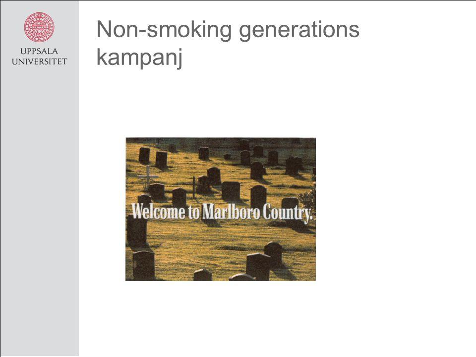 Non-smoking generations kampanj