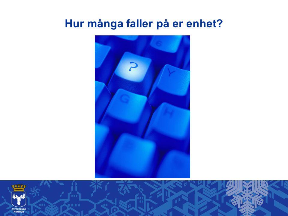 Per och Anna får god omvårdnad Många faller vid : Akut förvirring Desorientering Oro - smärta Upprördhet/ilska 8 foto: Bildarkivet.se