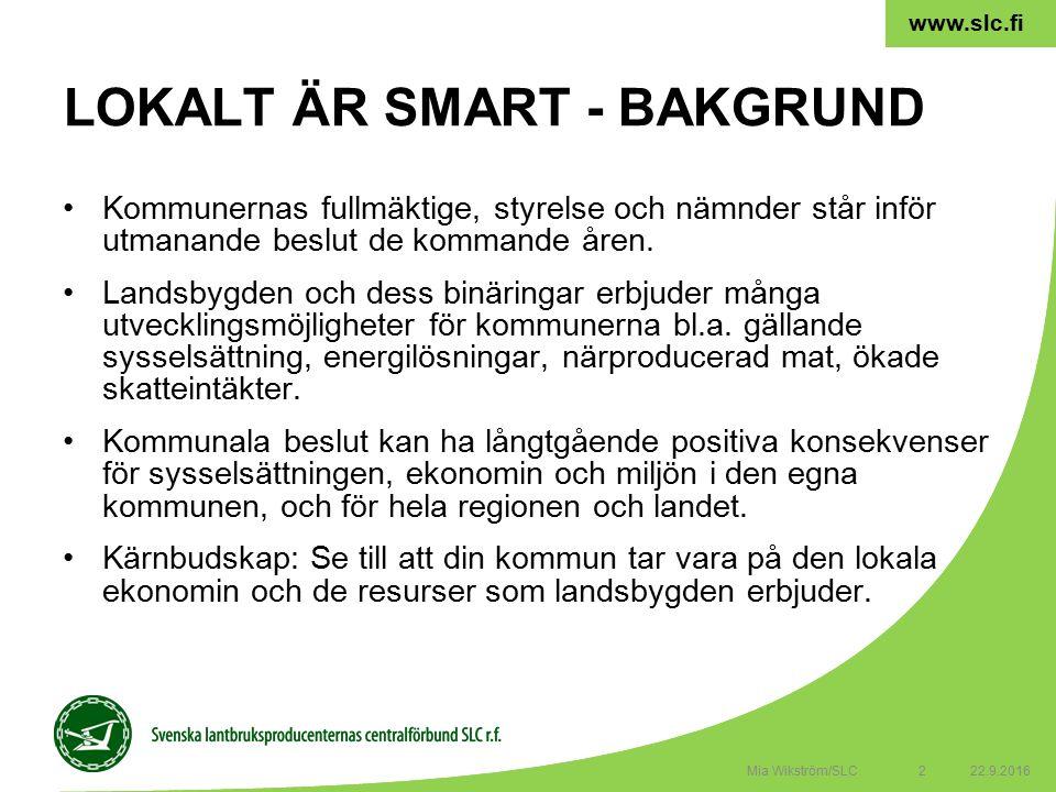 2 www.slc.fi Kommunernas fullmäktige, styrelse och nämnder står inför utmanande beslut de kommande åren.