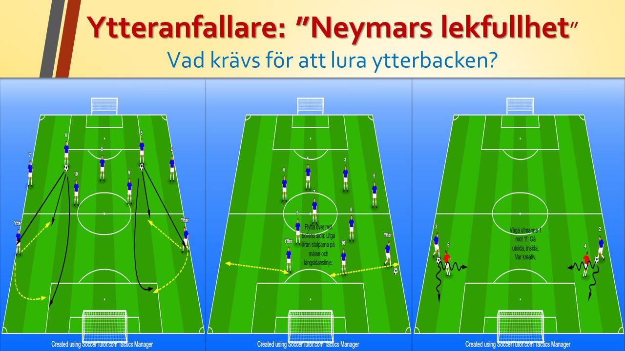 Ytteranfallare: Neymars lekfullhet Ytteranfallare: Neymars lekfullhet Vad krävs för att lura ytterbacken