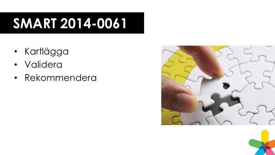 SMART 2014-0061 Kartlägga Validera Rekommendera
