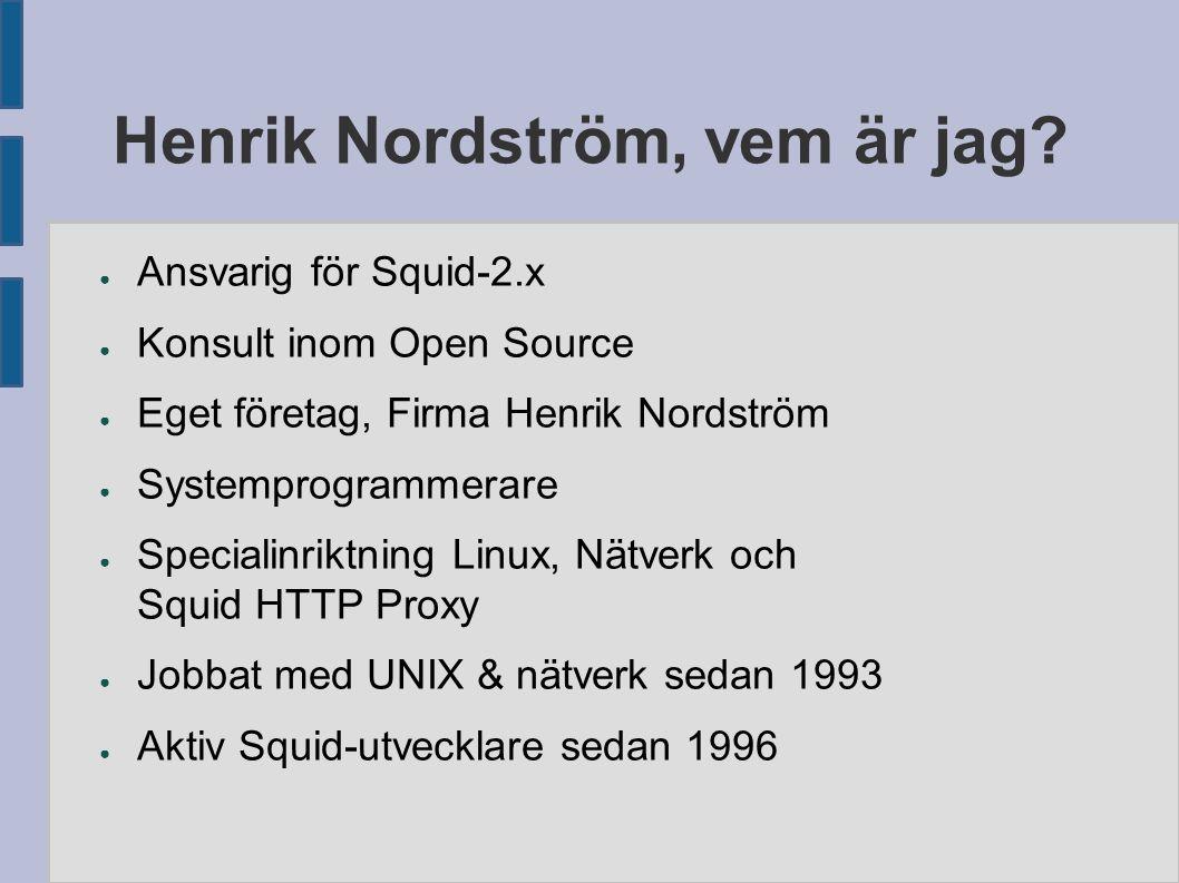 Henrik Nordström, vem är jag.