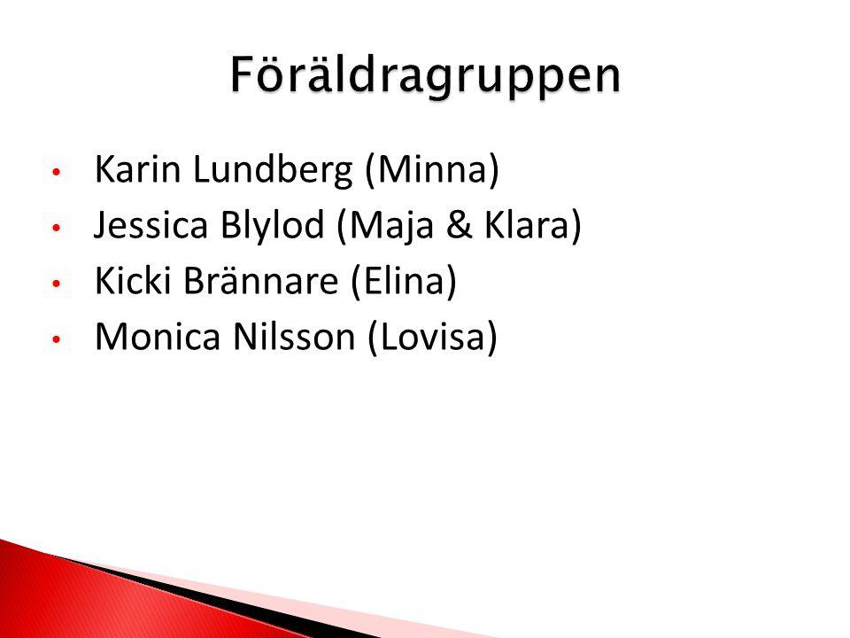 Karin Lundberg (Minna) Jessica Blylod (Maja & Klara) Kicki Brännare (Elina) Monica Nilsson (Lovisa)