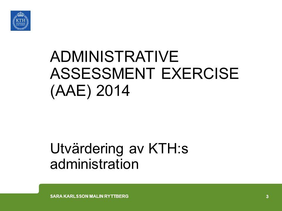 Att söka svar på……1(2) Hur har utvecklingen sett ut för administrativa funktioner/ roller vid svenska u/h.