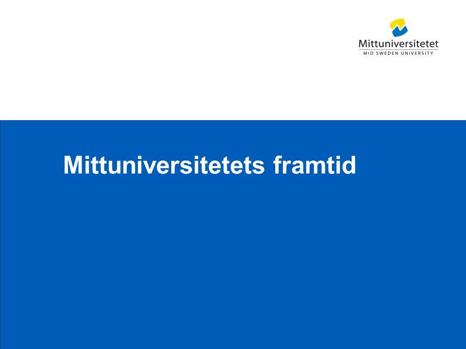 Mittuniversitetet Mittuniversitetets framtid