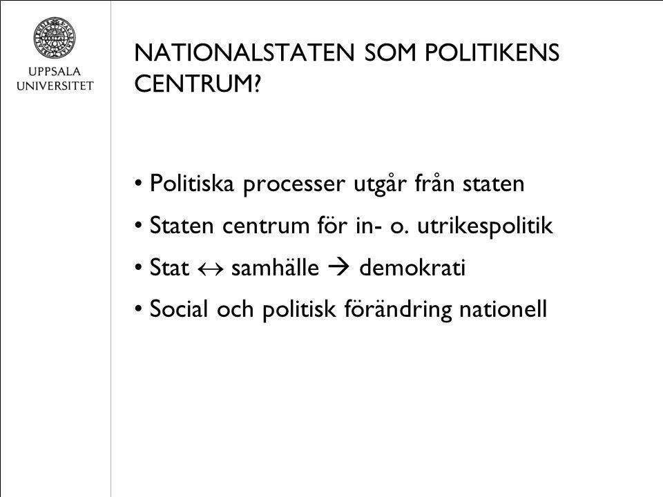 SOCIALA R Ö RELSER OCH UTMANINGEN AV SOCIOLOGIN Samhället inte bara stratifierat genom klass.