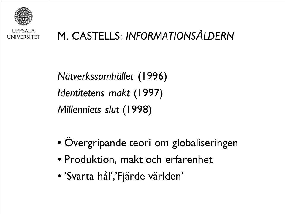INFORMATIONTIOELL POLITIK (M.