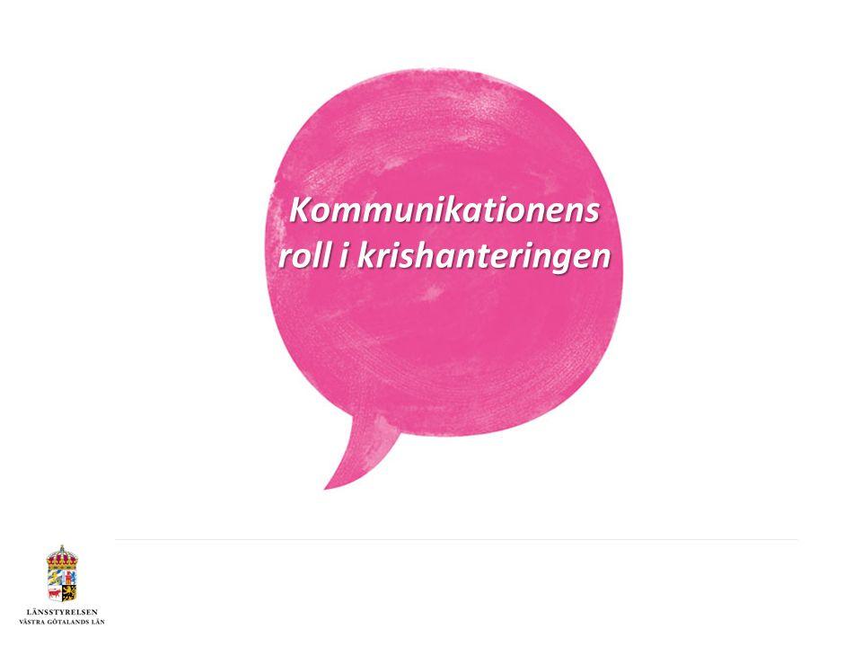 Kommunikationens roll i krishanteringen