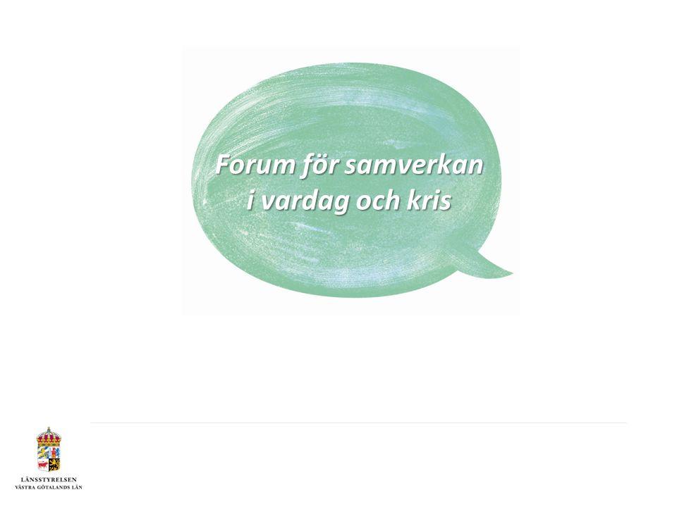 Forum för samverkan i vardag och kris