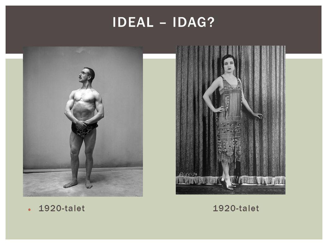 1920-talet1920-talet IDEAL – IDAG?