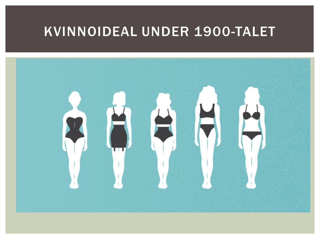 KVINNOIDEAL UNDER 1900-TALET