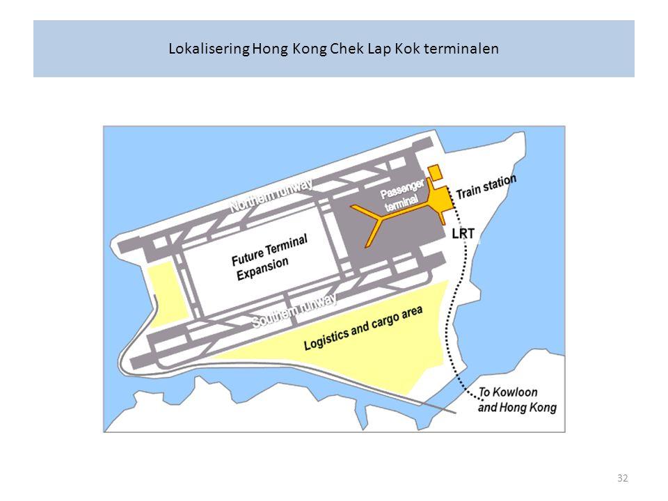 Lokalisering Hong Kong Chek Lap Kok terminalen 32
